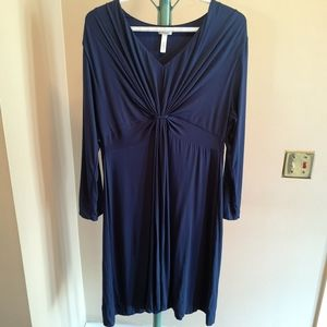 SOMA Blue Super Soft Long Sleeve Night Dress